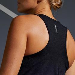 Tennis tank top voor dames TK Light 990 zwart/paars