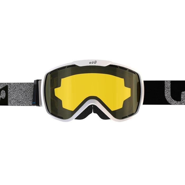 Máscaras y Gafas de Esquí y Nieve, Wed'ze G 940 E, Adulto, Fotocromática, Blanco