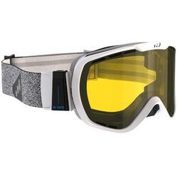 Ski- en snowboardbril voor volwassenen G 940 elk weer wit