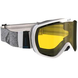 Skibrille Allwetter G 940 E Erwachsene weiß