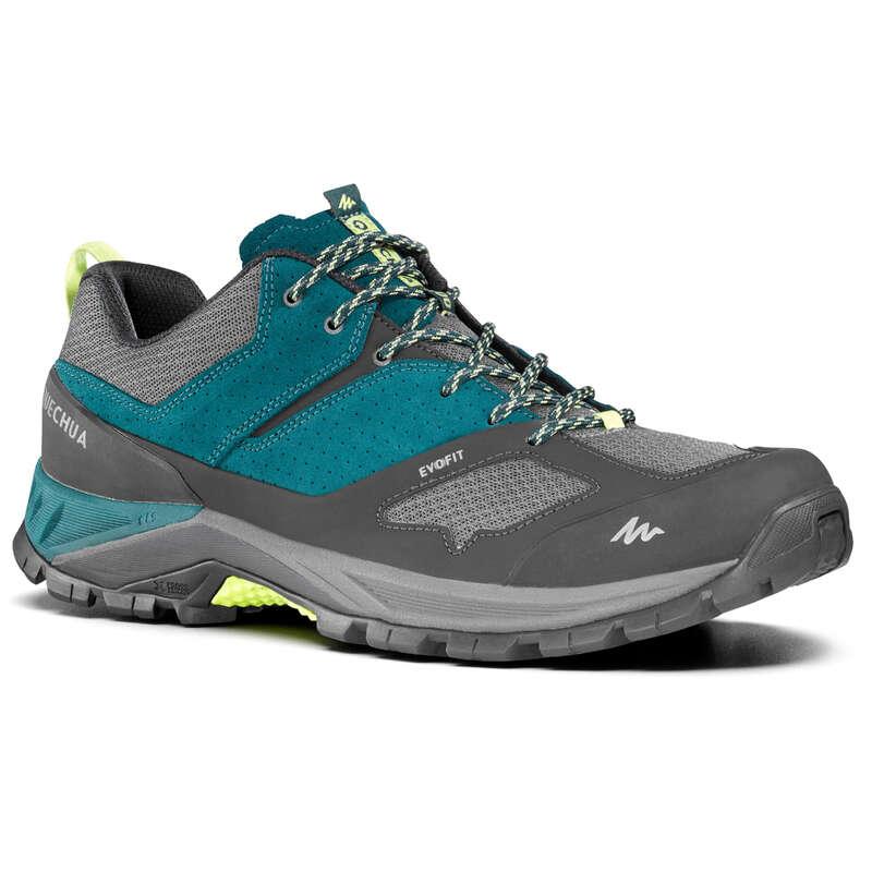 SCARPE MONTAGNA UOMO Sport di Montagna - Scarpe uomo MH500 azzurre QUECHUA - Scarpe e accessori trekking