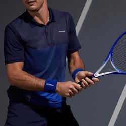 網球Polo衫Dry 500-石墨藍