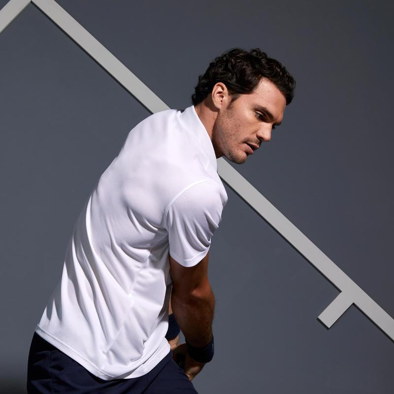 Dry 100 Tennis Polo Shirt - White