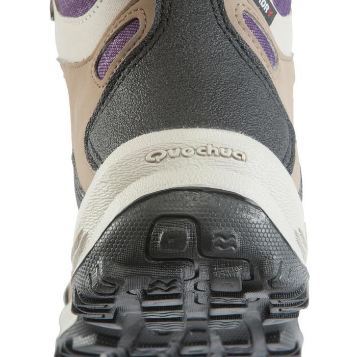 Chaussures de randonnée Nature femme Arpenaz 100 mid imper violette. - 157943