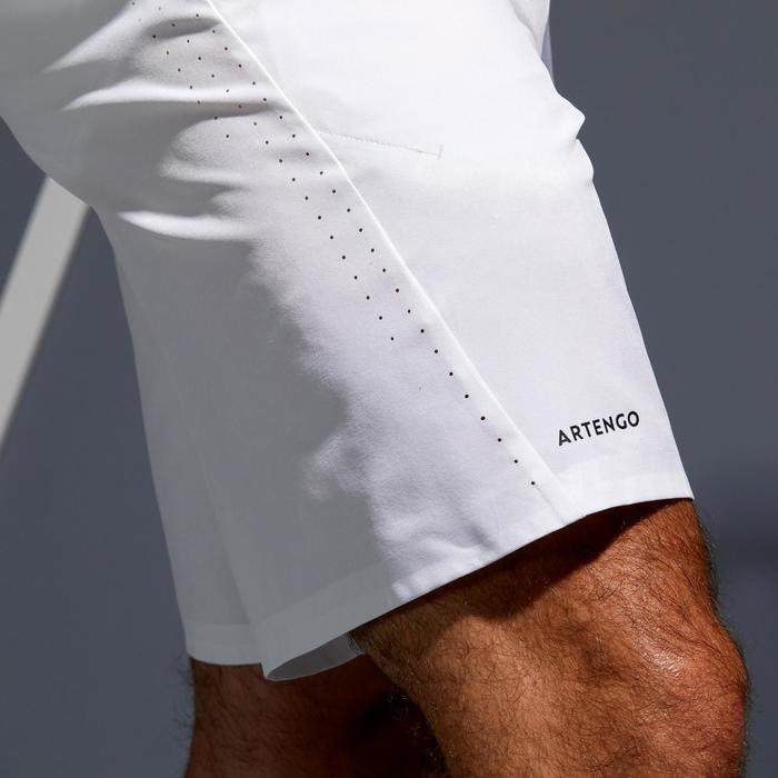 Tennisshort voor heren Light 900 wit