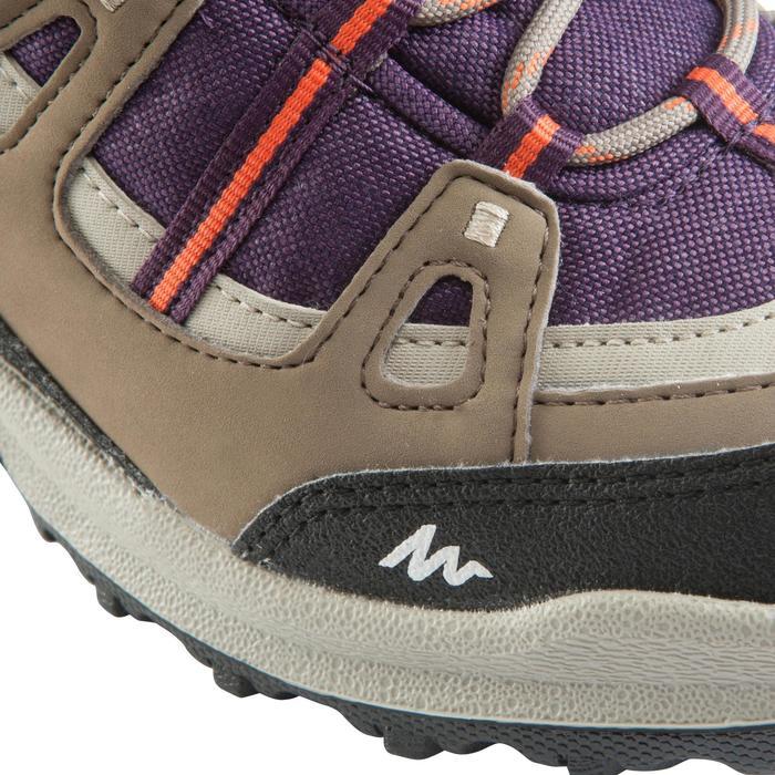 Chaussures de randonnée Nature femme Arpenaz 100 mid imper violette. - 157945