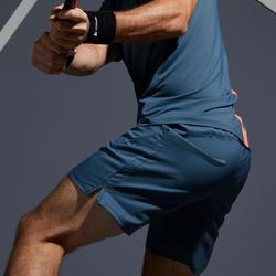 Tennisshort voor heren Dry 500 grijs