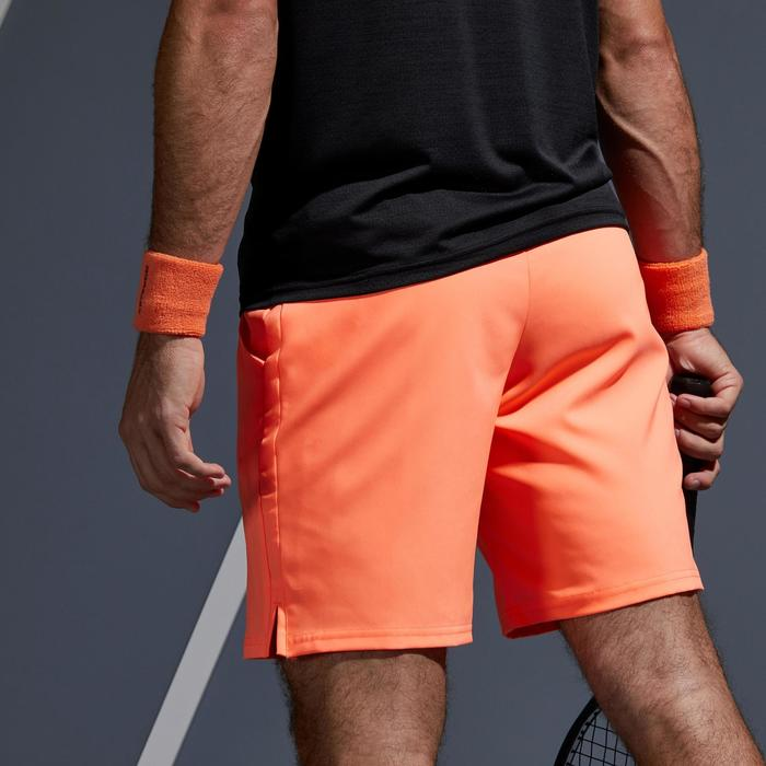 Tennis-Shorts Dry 500 Herren korallenrot