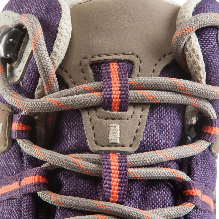 Waterdichte wandelschoenen voor dames Arpenaz 100 mid paars