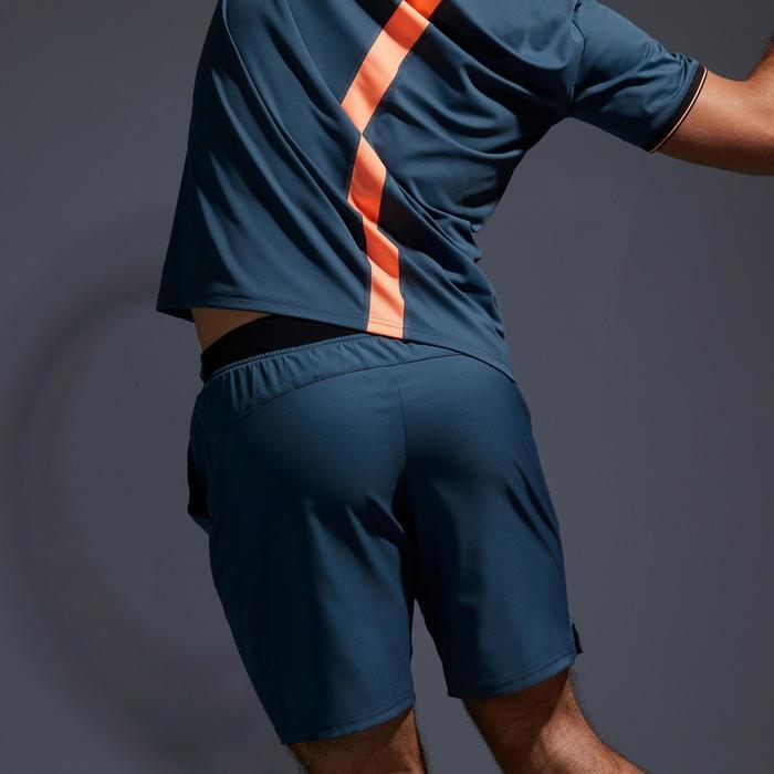 SHORT DE TENNIS HOMME DRY 500 GRIS