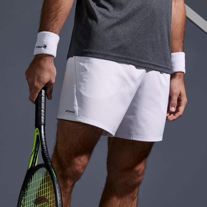 網球短褲Dry 100-白色