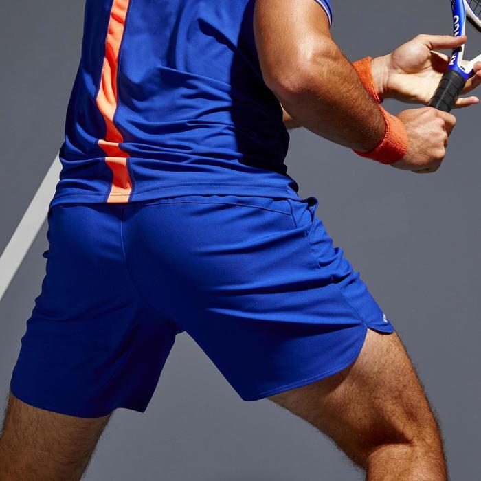 SHORT DE TENNIS HOMME DRY 500 BLEU