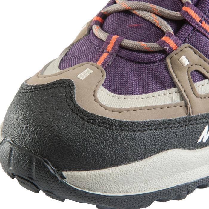 Chaussures de randonnée Nature femme Arpenaz 100 mid imper violette. - 157949