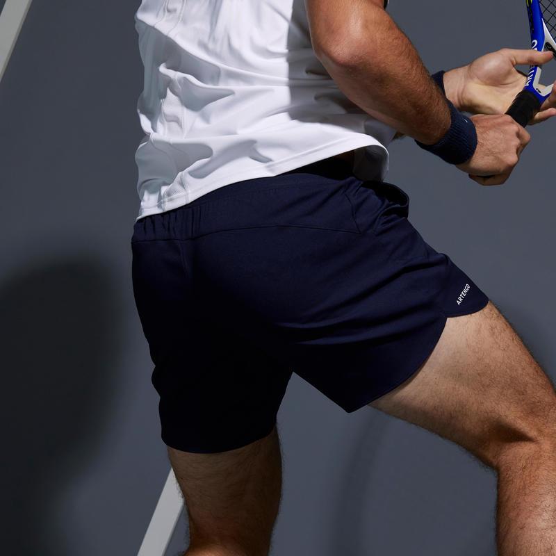 Men's Tennis Shorts TSH 500 Dry Court - Navy