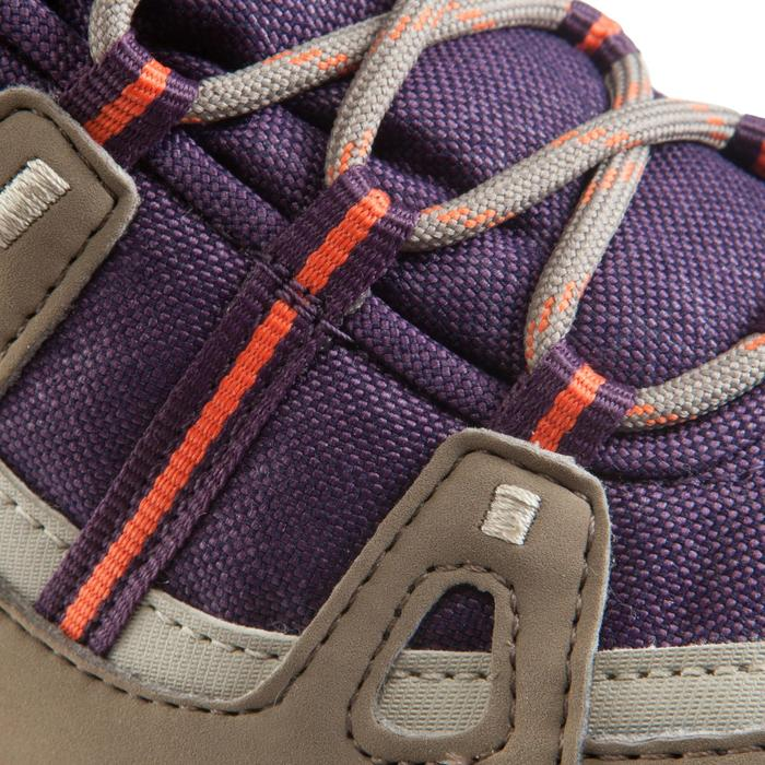 Chaussures de randonnée Nature femme Arpenaz 100 mid imper violette. - 157950