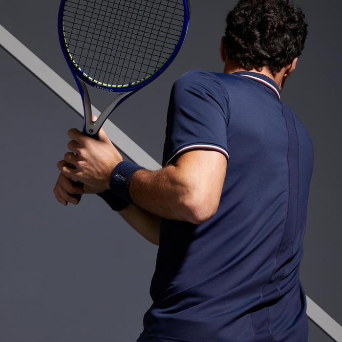 網球Polo衫Dry 500-海軍藍