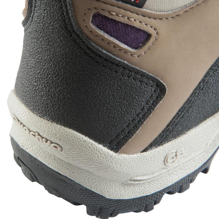 Chaussures de randonnée Nature femme Arpenaz 100 mid imper violette. - 157953