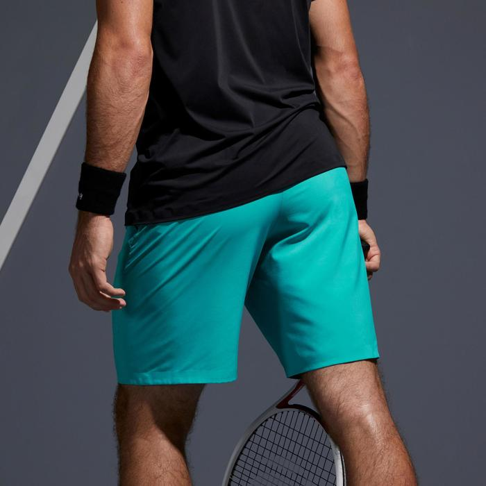 Tennisshort voor heren Light 900 blauw/turkoois