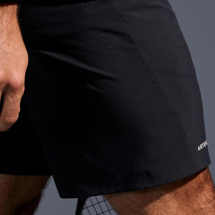 SHORT DE TENNIS HOMME LIGHT 900 NOIR