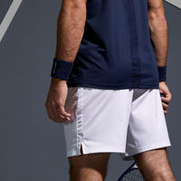 Men's Tennis Shorts TSH 500 Dry - White