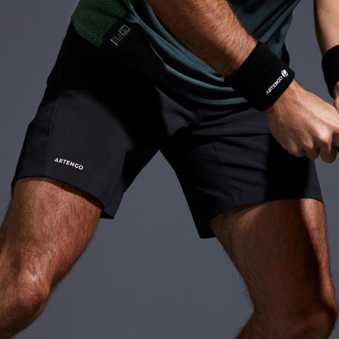 男性網球短褲TSH 900 Light - 黑色