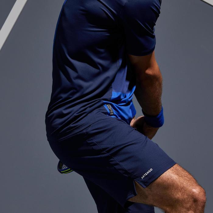 Tennisshorts Dry 500 Tennis-Shorts Herren marineblau
