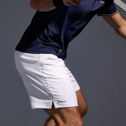 Tennis-Shorts Dry 500 Herren weiß