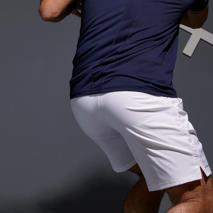 Tennisshort heren Dry 500 wit