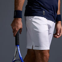 Men's Tennis Shorts TSH 500 Dry - White