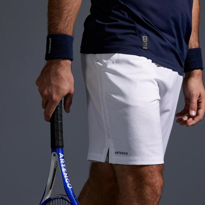 Tennisshort voor heren Dry TSH 500 wit