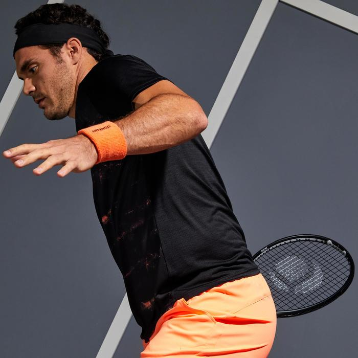 Dry 500 Tennis T-Shirt - Black Coral