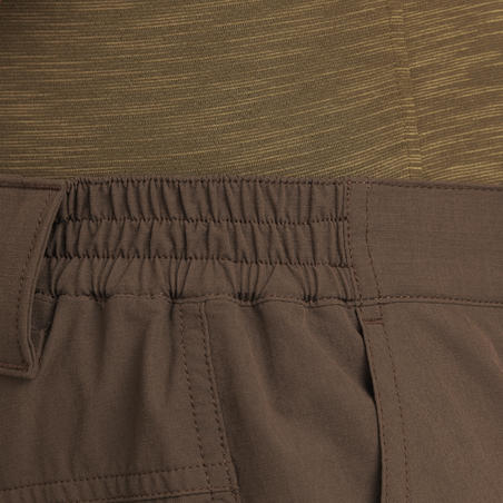 Light and Breathable 500 Pants Dark Brown