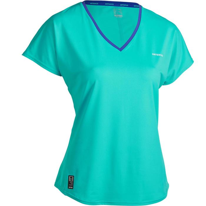 Tennisshirt dames TS Soft 500 bordeaux
