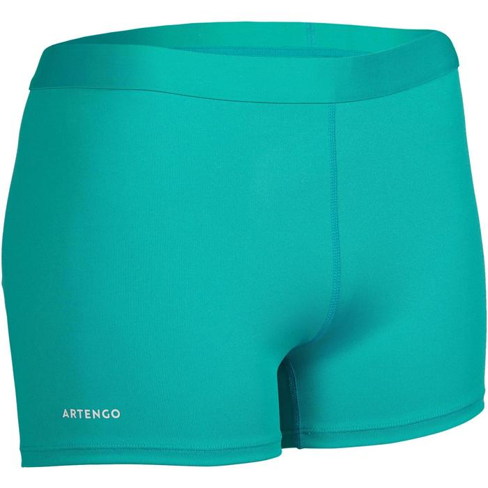 Tennisshortje dames 900 turquoise