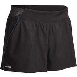 Tennis-Shorts SH light 900 Tennis Damen grau/schwarz