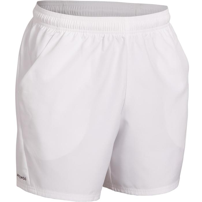 Tennisshort voor heren TSH 100 Dry wit