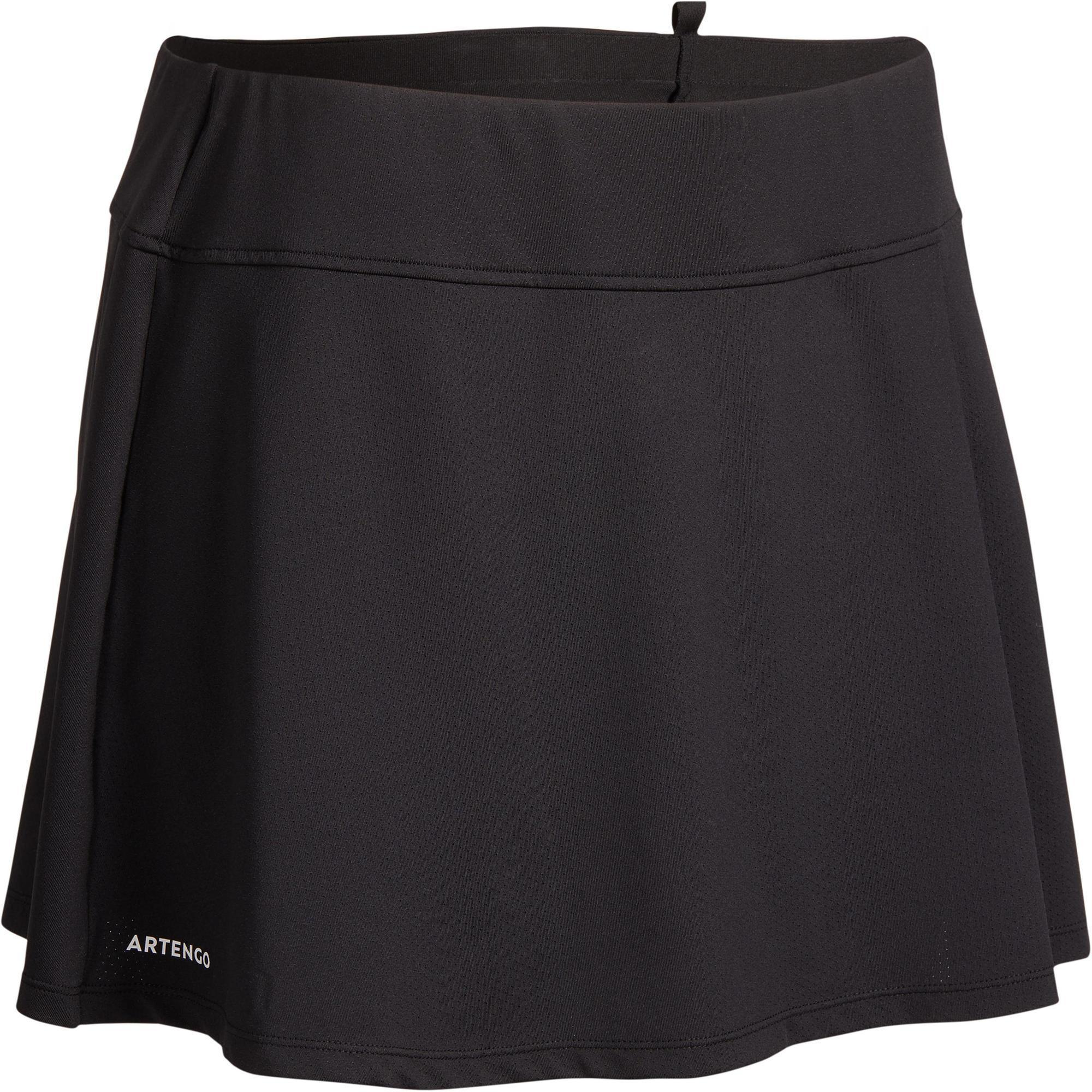 Artengo Tennisrokje SK Soft 500 zwart