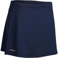網球短裙Essential 100-軍藍色