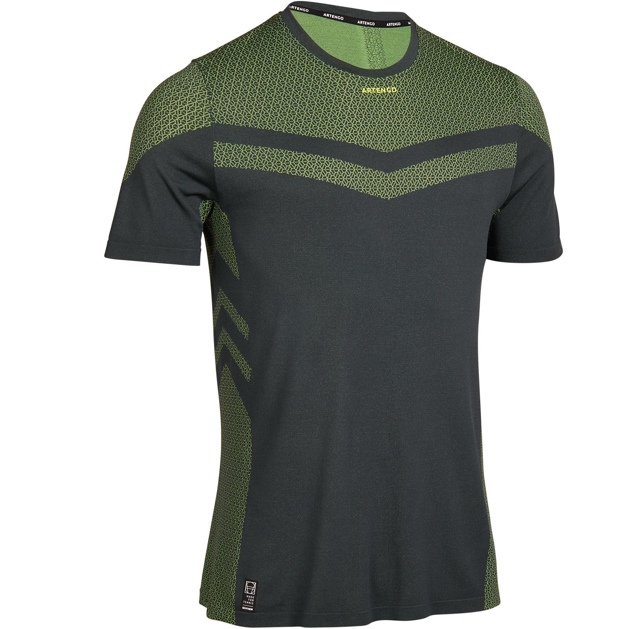 Artengo T-shirt tennis Light 990 heren kaki