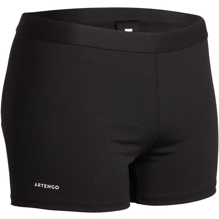 Tennishose Shorty Box 900 Damen schwarz