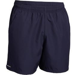 Pantaloncini tennis uomo DRY 100 blu