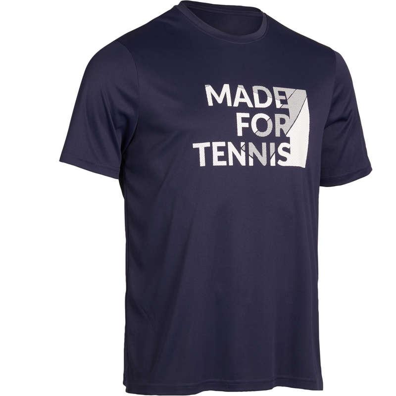 ABBIGLIAMENTO TUTTE LE STAGIONI UOMO Ping Pong - T-shirt uomo SOFT 100 blu ARTENGO - Ping Pong