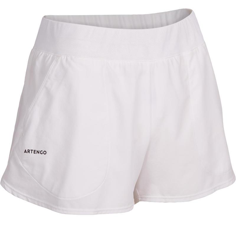 SH Soft 500 Women's Tennis Shorts - White