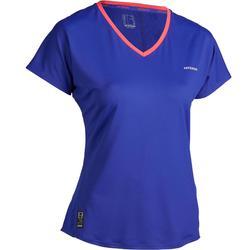 Soft 500 Women's Tennis T-Shirt - Blue