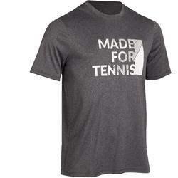 Soft 100 Tennis T-Shirt - Mottled Grey