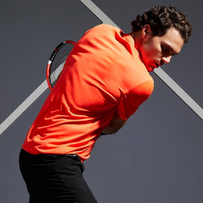 Tennisshirt voor heren Soft 100 oranje