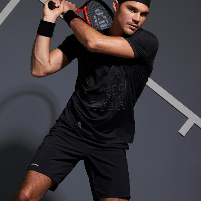 Tennisshirt voor heren Light 900 zwart/geel