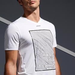 900 Light Tennis T-Shirt - White/Yellow