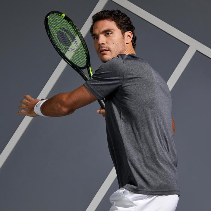 Soft 100 Tennis T-Shirt - Mottled Grey