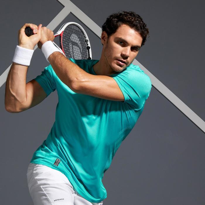 Light 990 Tennis T-Shirt - Turquoise Blue